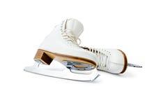 Figure ice skates royalty free stock image