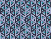 Figure impossibili cubi vuoti isometrici 3d immagine stock