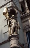 A figure of a knight in Graz Stock Photo
