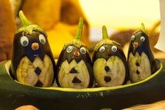 Figure l'aubergine à la foire dans Uglich, Russie Photographie stock