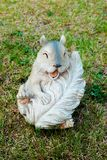 Figure of a laughing squirrel Stock Photography