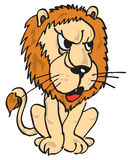 Figure of a lion Royalty Free Stock Photography