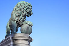 Figure of a lion Royalty Free Stock Images