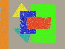 Figure luminose illustrazione vettoriale
