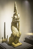 Figure of Makara  a mythical sea-creature , an Architectural D Royalty Free Stock Photos