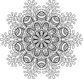 Figure mandala pour Photo stock