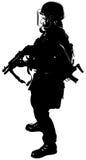 Figure militaire illustration libre de droits