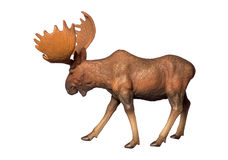 Figure of a moose Stock Photo