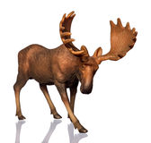 Figure of a moose Royalty Free Stock Photography