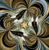 Figure multicolore abstraite avec des configurations. Image libre de droits