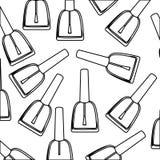Figure nails polish background icon. Illustraction design Stock Photo