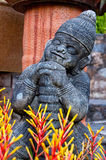 Figure in Nong Nooch park Royalty Free Stock Images