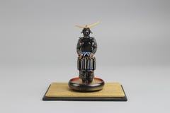 Figure off historic samurai armor. The figure off historic japnese samurai armor Stock Photos