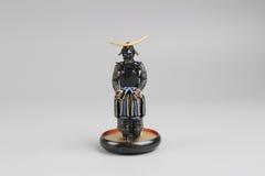Figure off historic samurai armor. The figure off historic japnese samurai armor Royalty Free Stock Photography
