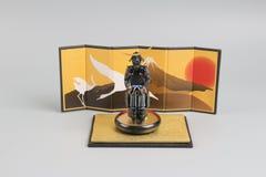 Figure off historic samurai armor. The figure off historic japnese samurai armor Stock Images