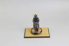 Figure off historic samurai armor. The figure off historic japnese samurai armor Royalty Free Stock Image