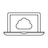 Figure optimization database icon image design. Illustratuion Stock Images