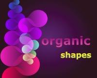 Figure organiche Fotografia Stock Libera da Diritti