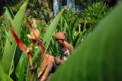 Figure in Palacio do Deao, Goa Royalty Free Stock Images