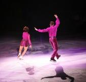 Figure patineurs Photo stock