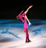 Figure patineurs images stock