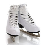 Figure patins Image stock