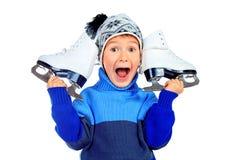 Figure patins Photographie stock libre de droits