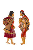 Figure from Peru Royalty Free Stock Photo