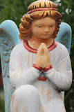 Figure Of A Praying Angel Stock Image