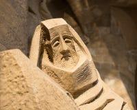 Figure of sad saint Royalty Free Stock Image