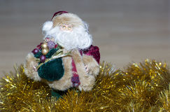 Figure of Santa Claus. Stock Photography