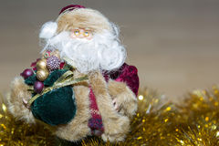 Figure of Santa Claus. Stock Photo