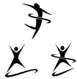 Figure semplici di sport Immagine Stock Libera da Diritti