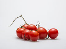 Figure series of small tomato figure 01. Studio shot ingredients series of small tomato figure Stock Photos