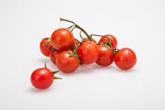 Figure series of small tomato figure. Studio shot ingredients series of small tomato figure Royalty Free Stock Photo