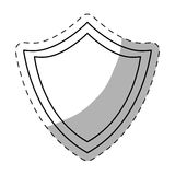 Figure shield icon image design Stock Photography