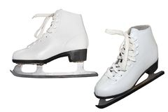 Figure skate Royalty Free Stock Image