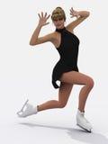 Figure skater Stock Photography