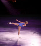 Figure skater Stock Image