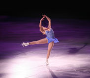 Figure skater stock photo