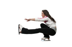 Figure Skater Royalty Free Stock Images