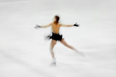 Figure skater Royalty Free Stock Photography