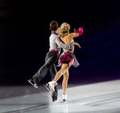 Figure skaters Royalty Free Stock Photo