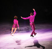 Figure skaters Stock Photo