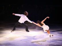Figure Skaters Royalty Free Stock Images