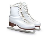 Figure skates Royalty Free Stock Images