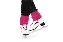 Figure skates Stock Images