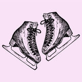 Figure skates Royalty Free Stock Photos