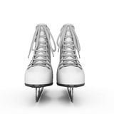 Figure skates front view Stock Photography