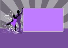 Figure Skating background Stock Photos